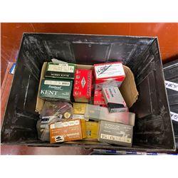 LARGE AMMO BOX WITH ASSORTED SHOTGUN SHELLS, 12GA, 16GA, 20GA