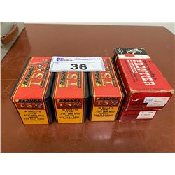 3 BOXES BARNES TSX 405 WIN, 2 BOXES HORNADYS FRONTIER 357 MAGNUM