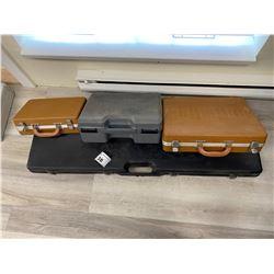 4 HARD SHELL GUN CASES