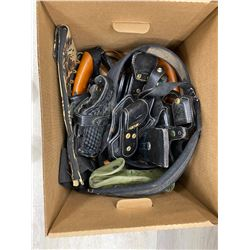 BOX OF ASSORTED HOLSTERS