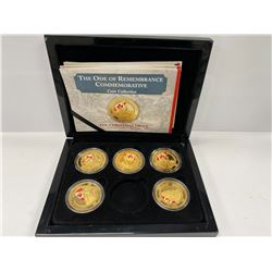 BRADFORD EXCHANGE CANADA THEMED COIN COLLECTION IN CASE
