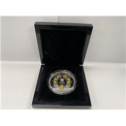 BRADFORD EXCHANGE LARGE COIN 'LONG MAY SHE REIGN 5 CROWNS' IN CASE