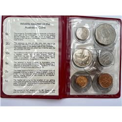 ROYAL AUSTRALIAN MINT COIN CASE WITH COINS