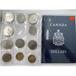 COLLECTION OF CANADIAN DOLLARS (AND MORE)IN CASE