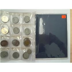 COLLECTION OF 1999 & 2000 CANADIAN COINS IN CASE