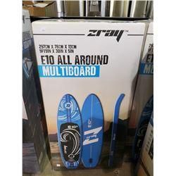 NEW IN BOX ZRAY E10 ALL AROUND MULTI BOARD 9FT9IN X 30IN X 5IN