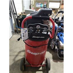 SNAP ON 20GALLON AIR COMPRESSOR UNTESTED AND/OR MISSING PIECES