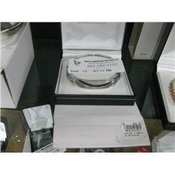 LADIES CLASSIC ID BRACLET W/BOX