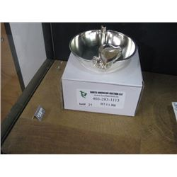 DIAMOND HEART RING HOLDER W/BOX