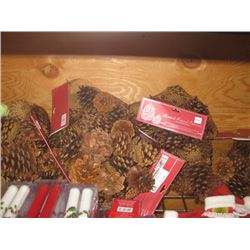 8 PACKS SCENTED NATURAL PINECONES