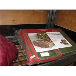 2PC REAL SIMPLE HEAVYWEIGHT 72 COUNT 3 TRAY ORNAMENT STORAGE BOX