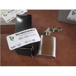 1OZ STAINLESS KEYCHAIN FLASK
