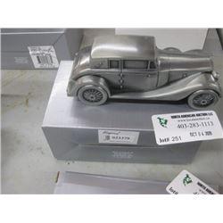 ANTIQUE CAR BANK W/ BOX