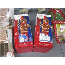 12PC ELF ON THE SHELF GINGERBREAD OUTFITS