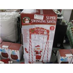 SUPER SWINGING SANTA