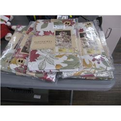 6PC FALL LEAF MELODY TABLE CLOTHES