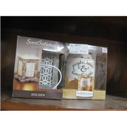 SCENT SATIONAL FULL SIZE WARMER 2PC
