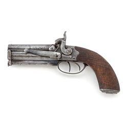 Swinburn & Son O/U Perc. Belt/Boarding Pistol