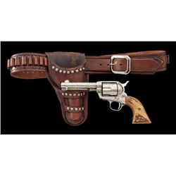 Colt Cattle Brand Engraved Single Action Army Revolver