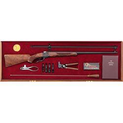 Rare Cased Grade I Ruger No. 1 Lyman Centennial Rifle