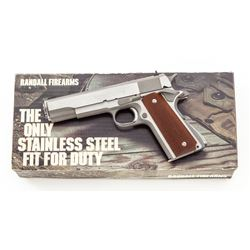 2-Digit Randall A111 Service Model Pistol