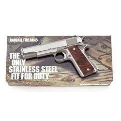 Single-Digit Randall A111 Service Model  Pistol