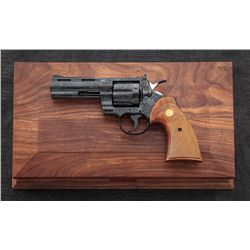 Factory ''D'' Engraved Colt Python Revolver