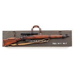 British No. 4 Mk.1(T) Lee-Enfield Sniper Rifle