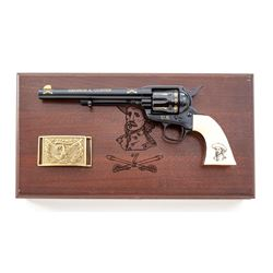 Cased Reproduction 7th Cavalry Tribute Single Action Army Revolver