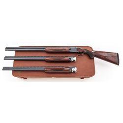 Winchester Model 101 Standard Grade O/U 3-Bbl Set