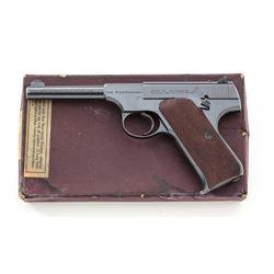 Colt Woodsman Semi-Auto Sporting Pistol