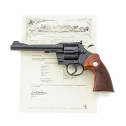Colt Officer's Model Match Double Action Revolver