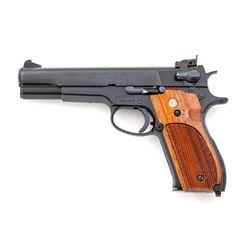 SW Model 52-2 Semi-Auto Target Pistol
