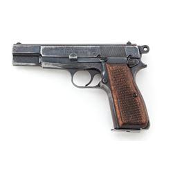 WWII Nazi Proofed Bel. Browning Hi-Power Pistol