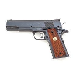 Post-War Colt National Match Semi-Auto Pistol