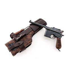 Standard Wartime Commercial Mauser C96 Pistol