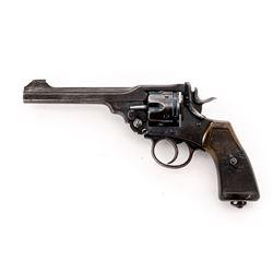 British Webley MK VI Double Action Revolver