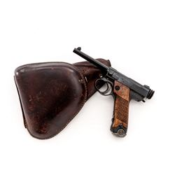 Japanese Nambu Type 14 Semi-Automatic Pistol
