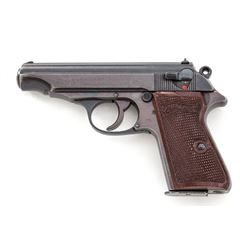 Late-War Walther Model PP Semi-Automatic Pistol