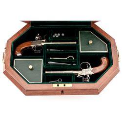 U.S. Historical Society ''Thomas Jefferson'' Flintlock Pistols