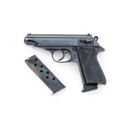 Post-War Walther PP Semi-Automatic Pistol