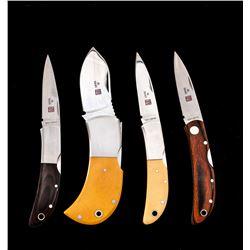 Lot of 4 NIB Al Mar Folding Knives