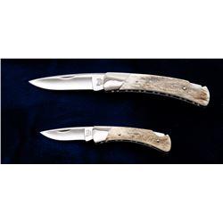 Set of 2 Buck Custom Shop Slimline Knives
