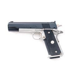 Composite Colt MK IV Series 70 Gold Cup Pistol