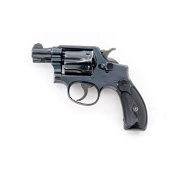 Pre-War SW MP Double Action Revolver