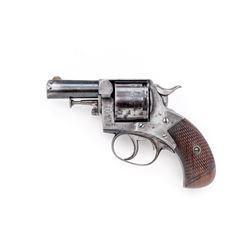 British Webley 6-Shot Bull Dog Revolver