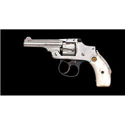 SW Safety Hammerless 2nd Model Revolver