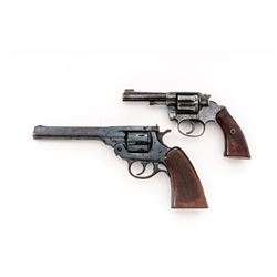 Lot of Two (2) Double Action Revolvers