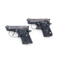 Lot of 2 Beretta .25 ACP Semi-Auto Pistols