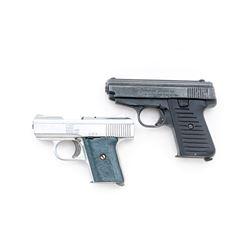 Lot of 2 Semi-Auto Pistols, by Jennings and Raven